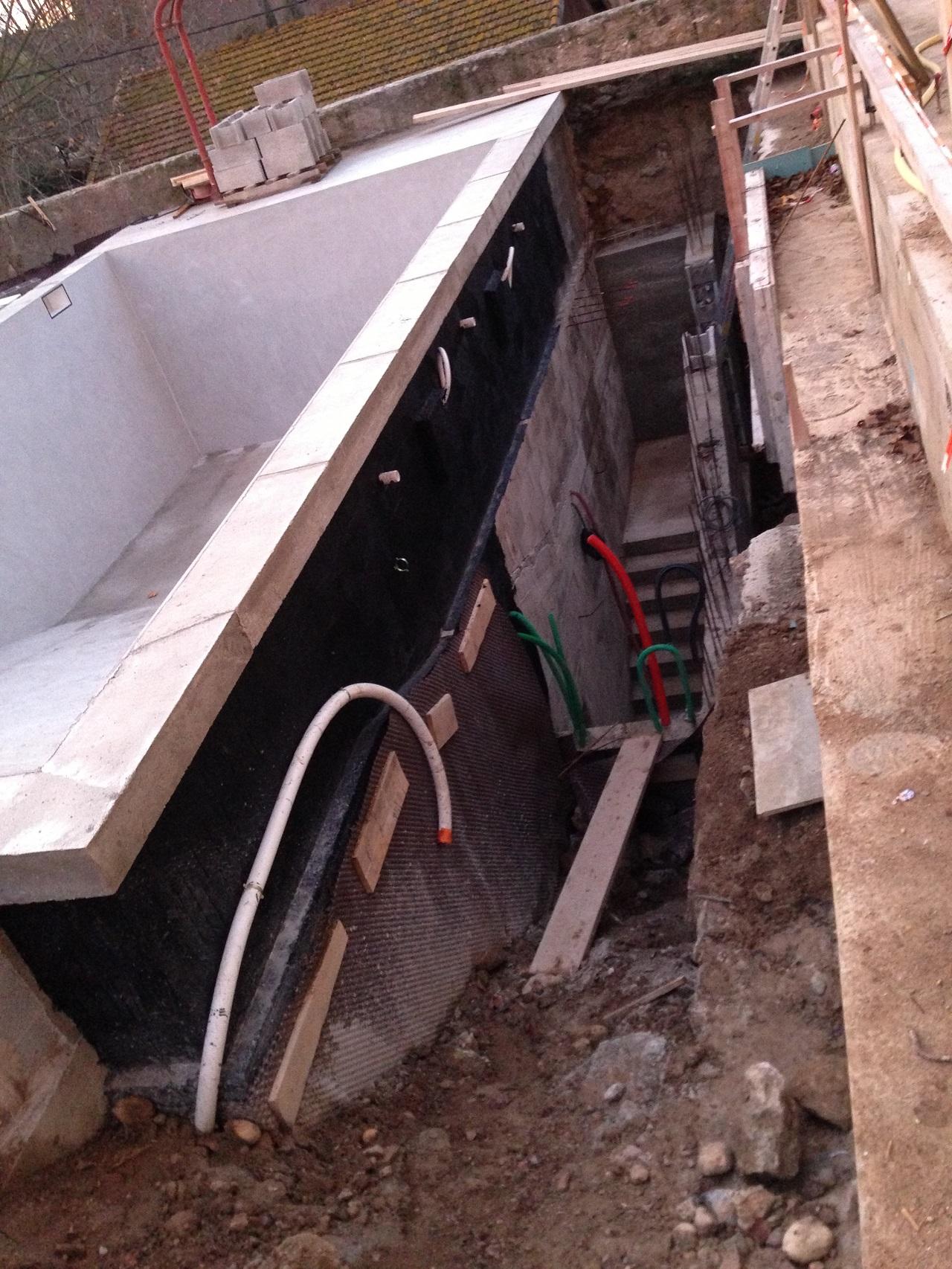 Construction de piscine b ton entreprise du b timent for Construction piscine beton